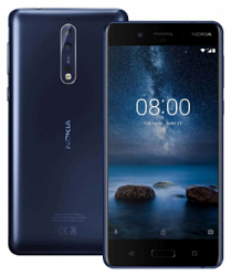 Мобильный телефон  Nokia 8 64GB Dual (4GB RAM) Polished Blue