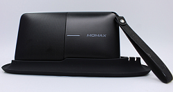 Bluetooth колонка-аккумулятор Momax Zonic 2 in1 Wireless Speaker Powerbank (BST3) Black
