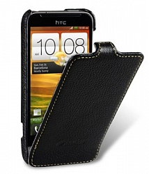 Чехол Melkco Leather Case для HTC One V Jacka Type Black LC