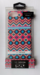 Накладка So Seven Incas Motif bleu для Iphone 7 (svncsin1ip7)