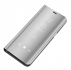 Чехол книжка Clear View Standing Cover для Xiaomi Mi9T/Mi9T Pro Silver